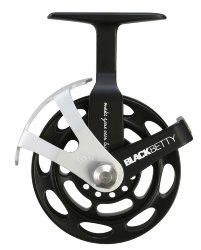 Катушка 13 Fishing Black Betty Inline Ice Reel 1:1 Gear Ratio - LH+RH Interchangeable