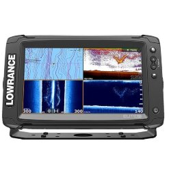 Эхолот-картплоттер Lowrance Elite-9Ti Mid/High/TotalScan™